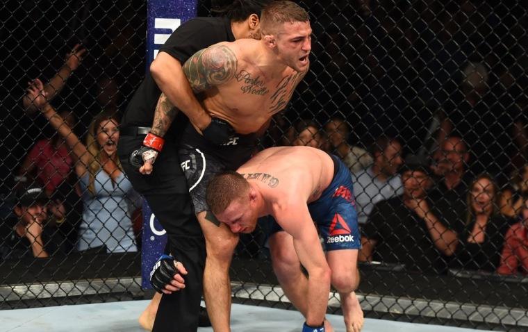 Dustin-Poirier-TKO-UFC Glendale MMAMotion