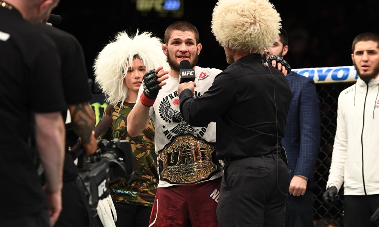 Khabib Nurmagomedov UFC 223 MMAMotion