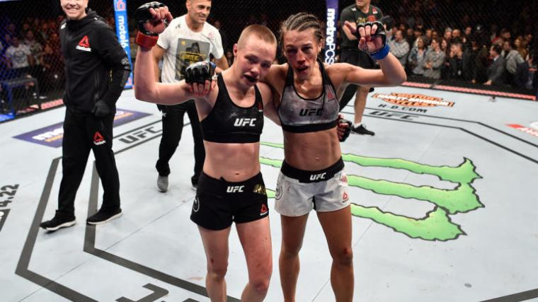 Rose Namajunas UFC 223 MMAMotion