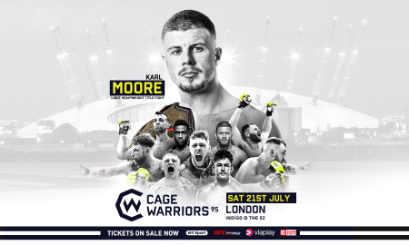 Cage Warriors 95 MMAMotion