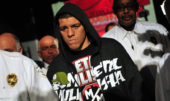 Nick Diaz Arrested MMAMotion