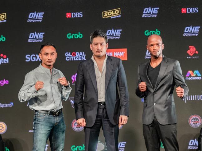 One Championship Singapore Press May 2018-2