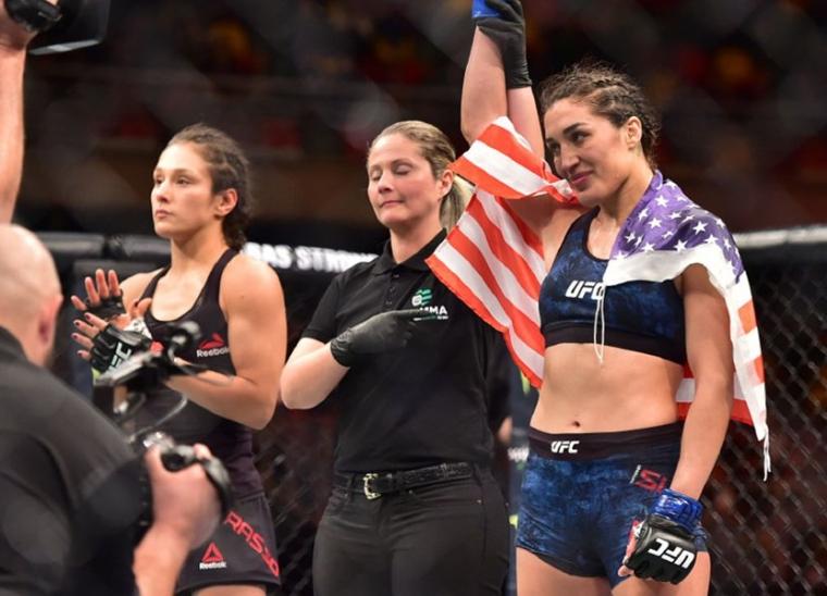 Tatiana Suarez UFC Chile MMAMotion