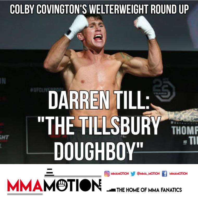 Darren Till Colby Covington MMAMotion