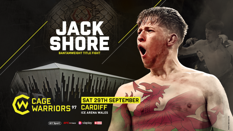 Jack Shore Cage Warriors MMAMotion 2