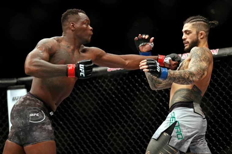 Ovince Saint Preux Singapore MMAMotion