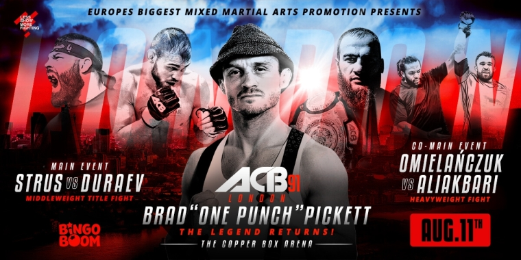 ACB 91 Poster MMAMotion