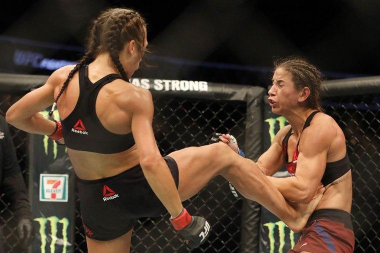 Joanna UFC Calgary MMAMotion