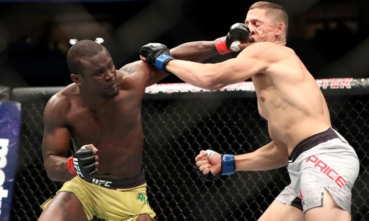 MMA: UFC 228-Alhassan vs Price